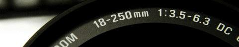 SIGMA 18-250mm Title