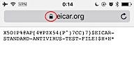 eicarテストファイル(SSLあり)